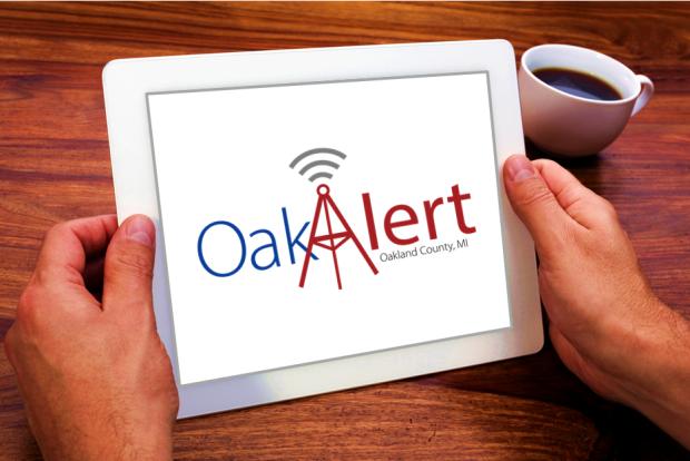 OakAlert iPad