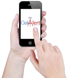 OakAlert iPhone